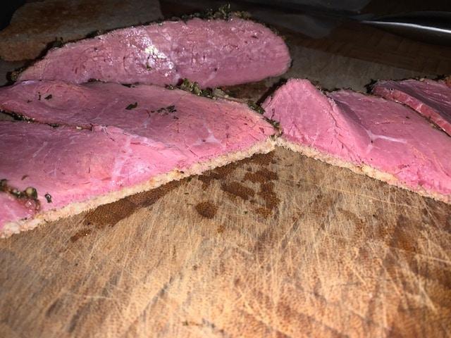 Leckeres Pastrami-Sandwich