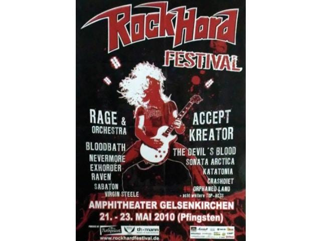 Rock Hard Festival 2010 - Perfektes Wetter und geile Stimmung