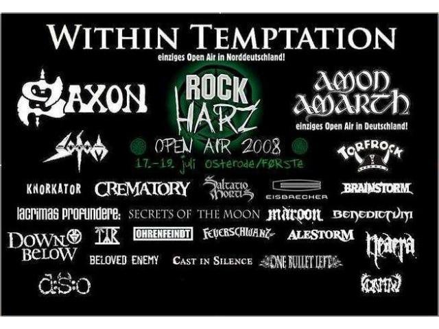 RockHarz Festival 2008 - Dauerniesel und Riesenschlammschlacht