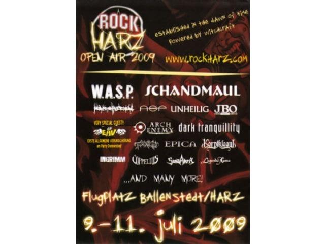 RockHarz Festival 2009 - Frühzeitige Abreise wegen Dauerregen
