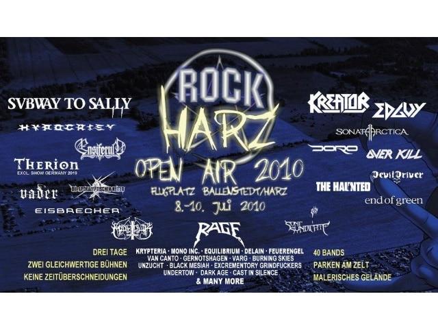 RockHarz Festival 2010 - eine gelungene Atmosphäre