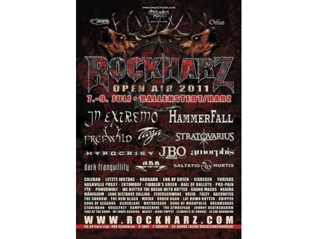 RockHarz Festival 2011 in Osterode am Harz - wieder eine Reise wert