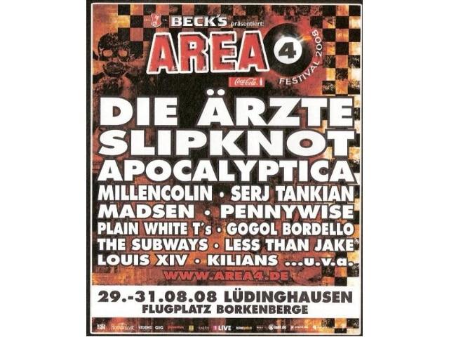 Area 4 Festival 2008