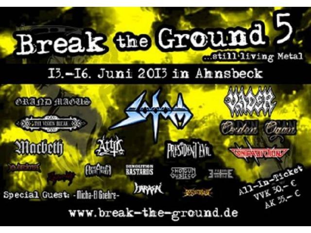 Break the Ground Festival 2013 - Zu Gast bei Freunden