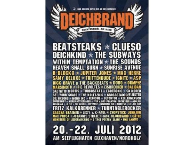 Deichbrand Festival 2012