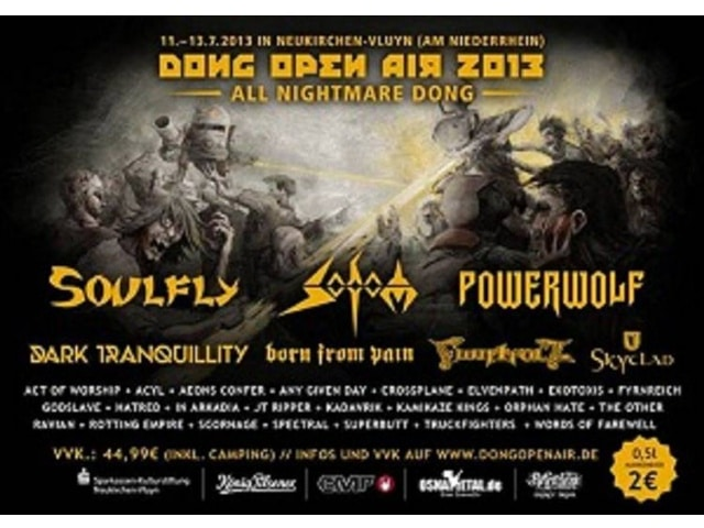 Dong Open Air 2013