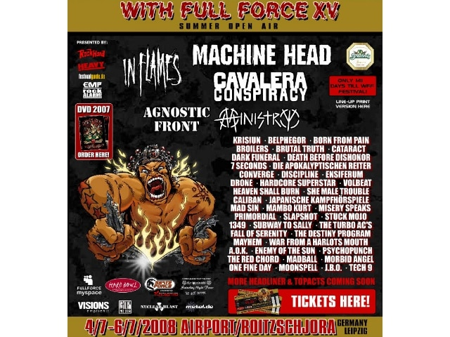 15. With Full Force Festival 2008