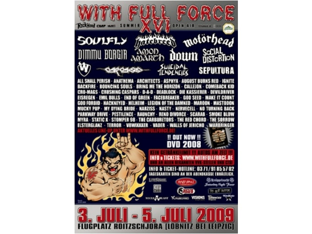 16. XVI. With Full Force 2009