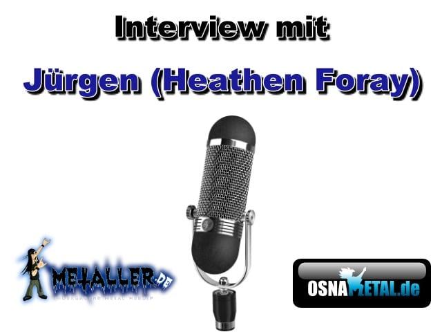 Interview Jürgen (Heathen Foray)