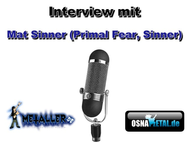 Interview mit Mat Sinner (Primal Fear, Sinner)