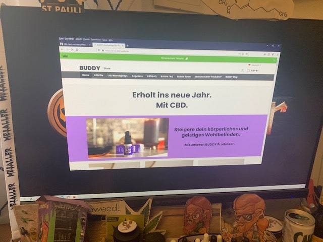 CBD Buddy CBD Online Shop Informationen (Erfahrungen/Test)