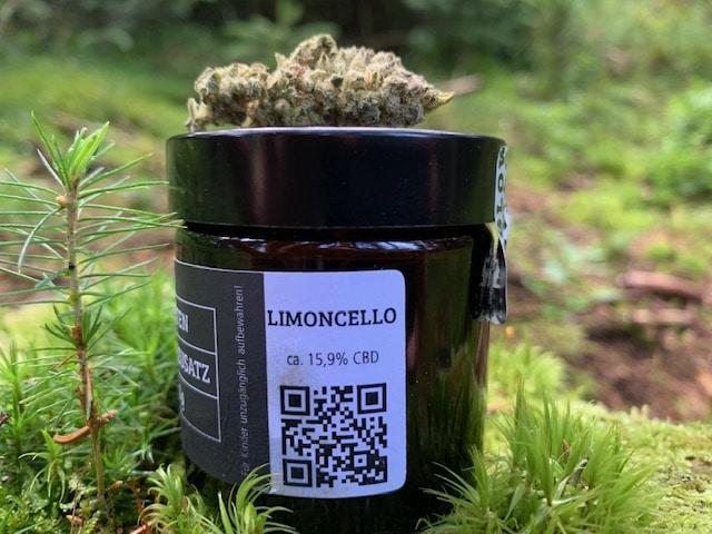 Glow Cannabis Company: CBD Blüten Limoncello