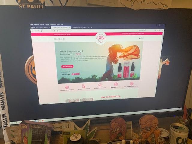 Pink Comfort CBD Online Shop Informationen (Erfahrungen/Test)