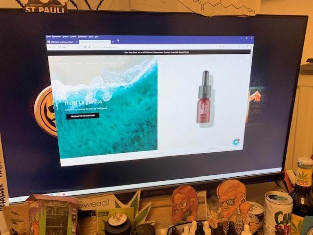 Reef Organics CBD Online Shop Informationen (Erfahrungen/Test)