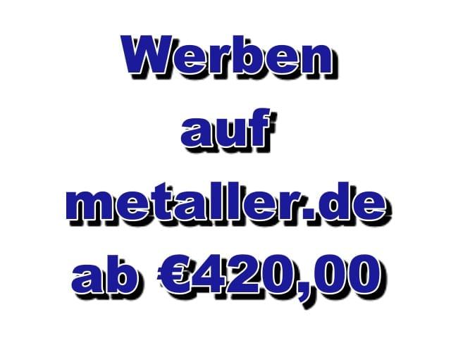 Werben auf Metaller.de