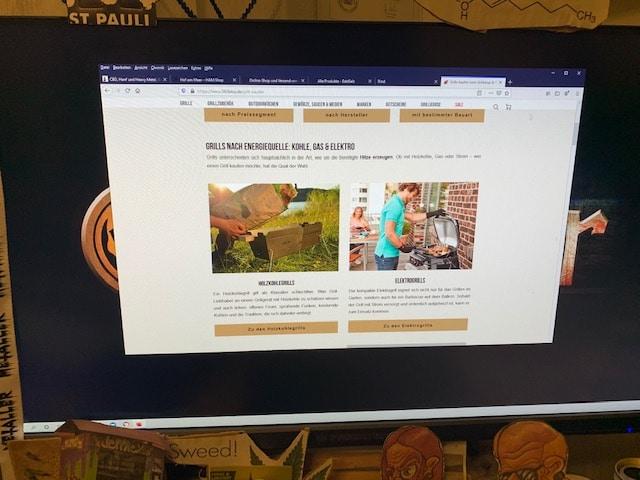Der Online Shop von 360bbq.de