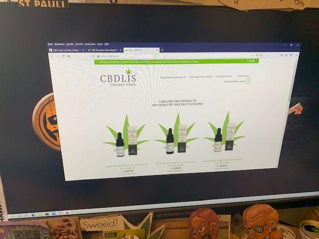 CBDLIS CBD Online Shop Informationen (Erfahrungen/Test)