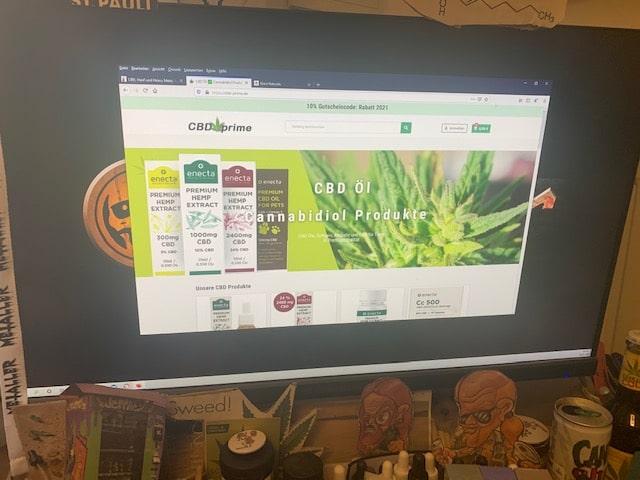 CBDprime CBD Online Shop Informationen (Erfahrungen/Test)