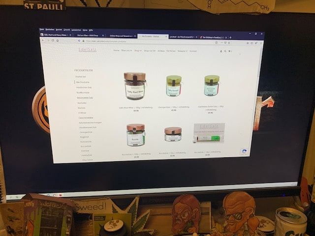 Der Online Shop Salzmischungen