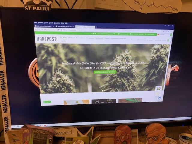 Hanfpost.ch CBD Online Shop Informationen (Erfahrungen/Test)
