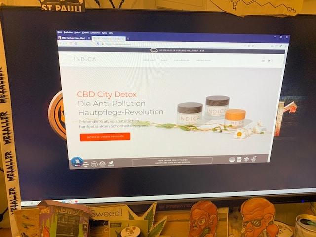 Indica CBD Skincare CBD Online Shop Informationen (Erfahrungen/Test)