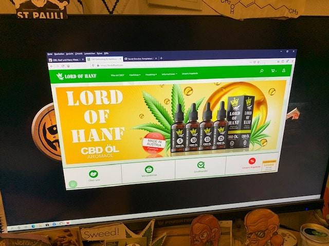 Lord of Hanf CBD Online Shop Informationen (Erfahrungen/Test)
