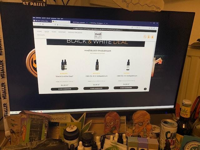 Medi Blue CBD Online Shop Informationen (Erfahrungen/Test)