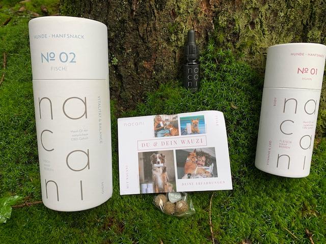 Nacani: Nachhaltige CBD Produkte für Hunde