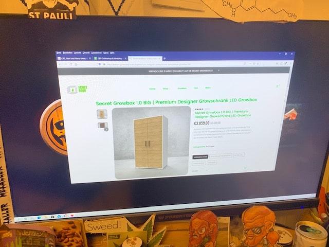 Secret-Grow Growbox Online Shop Informationen (Erfahrungen/Test)