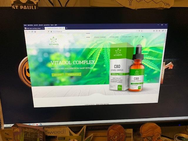 Vitadol CBD Online Shop Informationen (Erfahrungen/Test)