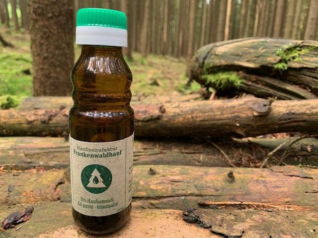 Frankenwaldhanf Bio Hanfsamenöl