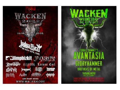Wacken Open Air 2022 bestätigt erste Bands