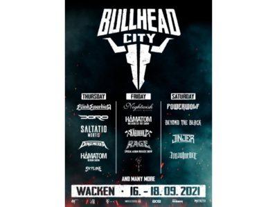 Wacken Bullhead City 2021: Vorverkauf, weitere Bands und Rahmenbedingungen