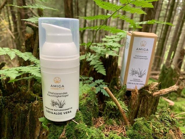 Amiga Cosmetics - Vitalisierendes Feuchtigkeitsgel mit CBD & Aloe Vera