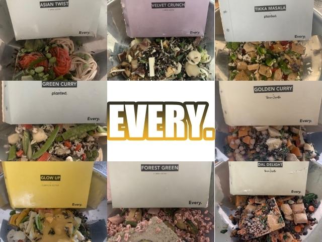 EVERY FOODS: abwechslungsreiches Feel Good Food zu 100% pflanzlich