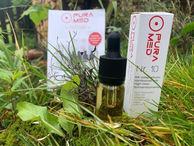 PURA MED High Oleic Sonnenblumenöl 10%