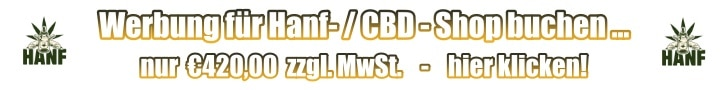 Werbung für Hanf- / CBD - Shop buchen