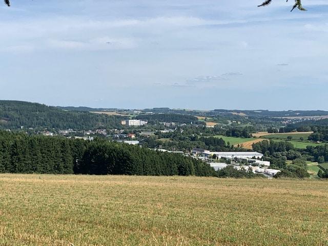 Naila im Naturpark Frankenwald nahe des Eingangs zum Höllental