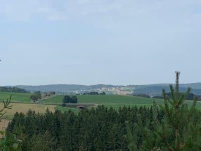 Wanderwege im Frankenwald (Frankenwaldsteigla bis Döbrabergweg)